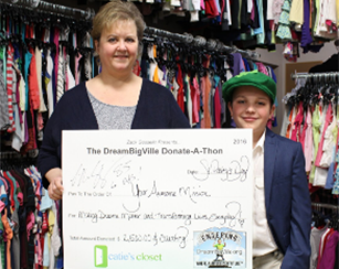 We Gave $2,500 To Catie's<br> Closet To Outfit Kids In Need
